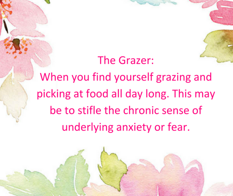 reasons for emotional eating - grazing