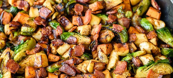 healthy fall skillet recipe